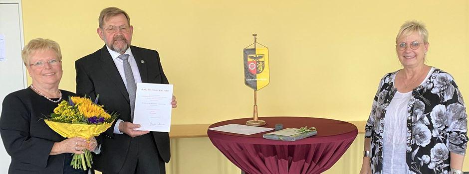 Ministerpräsidentin und Landrätin ehren Otto-Wilhelm Umstätter