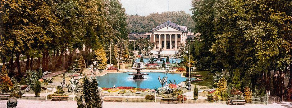So sah Wiesbaden früher aus