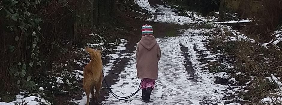 Glück auf vier Pfoten für ein ganz besonderes kleines Mädchen