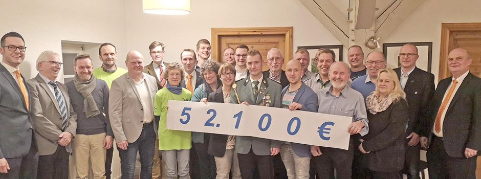 52.100 Euro für 31 Vereine