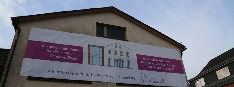 """Kulturhaus """"Alte Schlachterei"""" überplant: Rund 200.000 Euro Mehrkosten"""