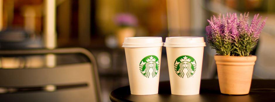Die Eröffnung des Starbucks am Königsplatz
