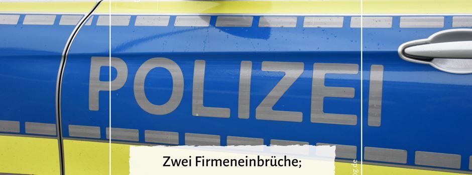 Zwei Firmeneinbrüche in Herzebrock - Polizei sucht Zeugen