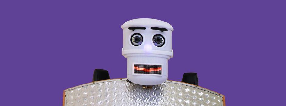Warum ein Roboter in der Marktkirche den Segen erteilt