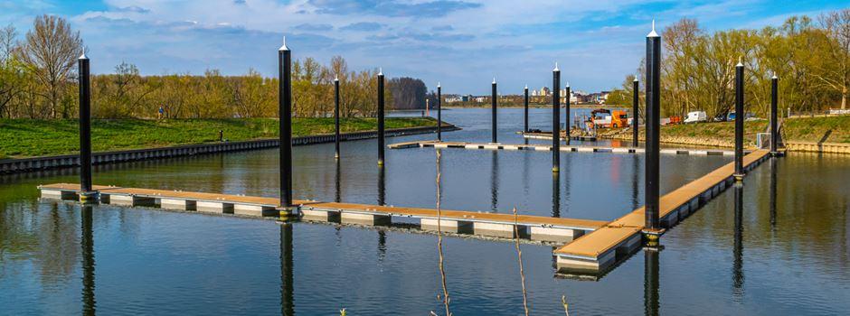 Update: So weit sind die Bauarbeiten am Zündorfer Hafen fortgeschritten