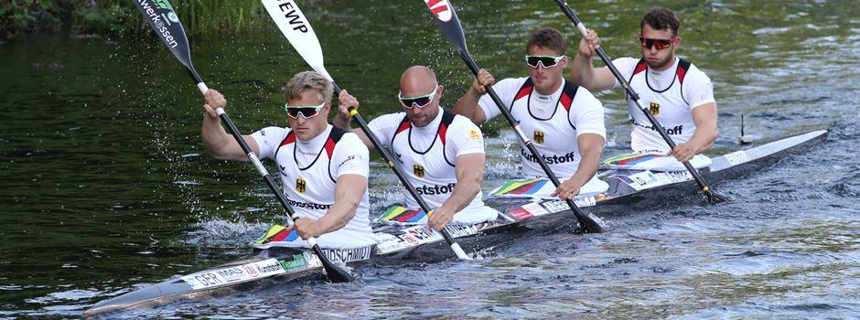Kanu-Weltcup: Team um Max Rendschmidt auf Platz 2