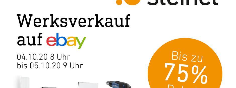Anzeige: Steinel Werksverkauf bei ebay