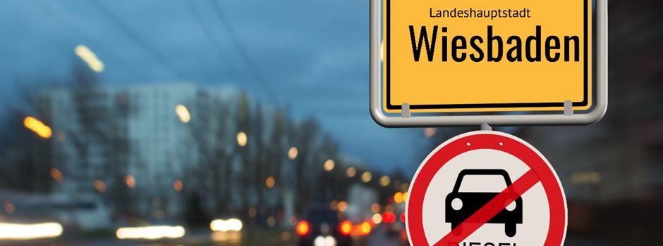 Entscheidung über Dieselfahrverbot in Wiesbaden vertagt