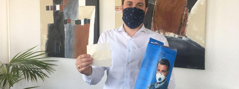 Bürgermeister empfiehlt Tragen eines Mund-Nasenschutzes