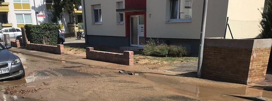 Wasserversorgung in Laubenheim ausgefallen