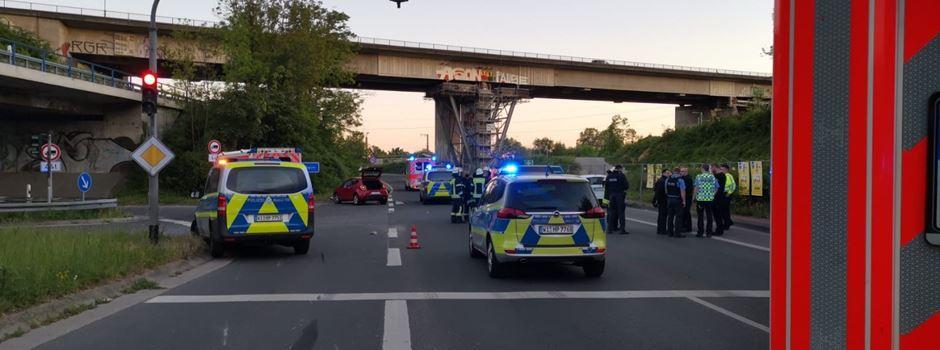 Motorradfahrer (34) bei Unfall auf Mainzer Straße tödlich verletzt