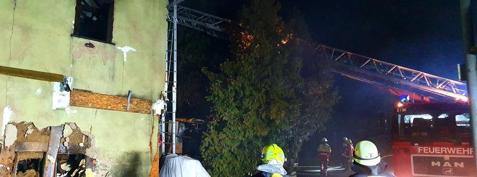 Zwei Menschen sterben bei Hausbrand