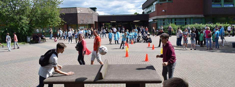 Sport- und Europafest an Realschule