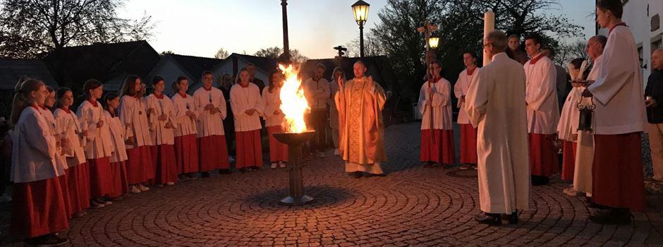 Pastor Ewerszumrode unterstützt am Osterwochenende