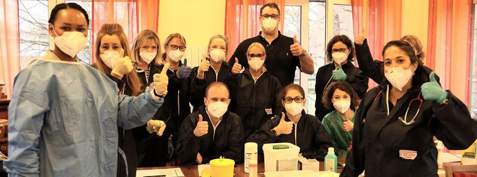 Erste Corona-Schutzimpfungen in Niederkassel