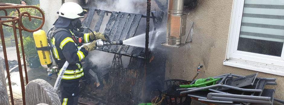 Mehrere Feuerwehreinsätze in Lülsdorf