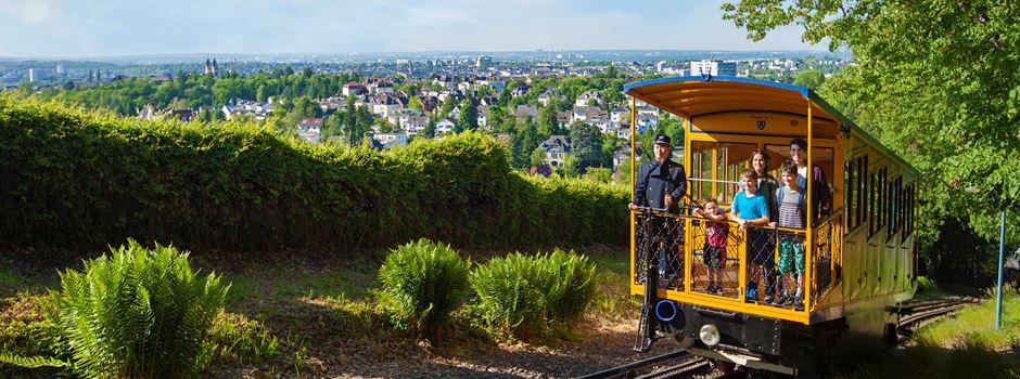 So könnte eine Fahrt mit der Nerobergbahn in Corona-Zeiten aussehen
