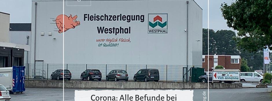 Alle Befunde bei Westphal negativ