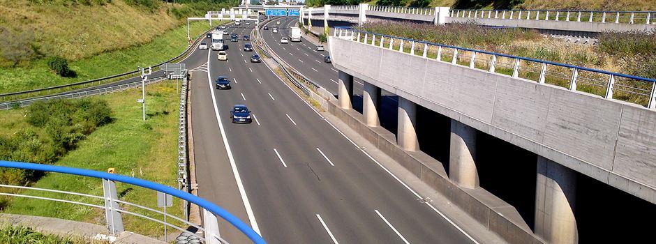 Hechtsheimer Autobahntunnel gesperrt