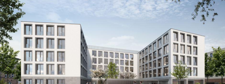 Neubau in der Mombacher Straße