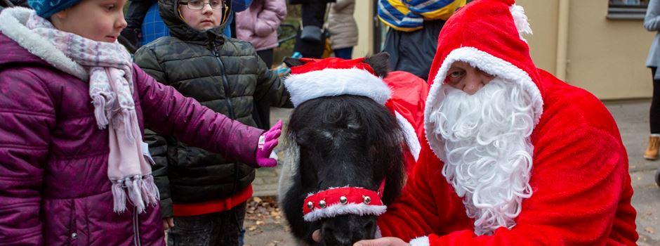 Der Nikolaus besuchte den Zoo
