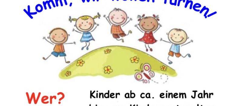 Eltern-Kind-Turnen in Clarholz