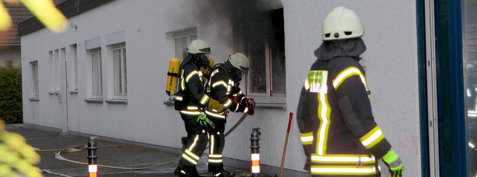 Brandeinsatz in Flüchtlingsunterkunft in Ranzel