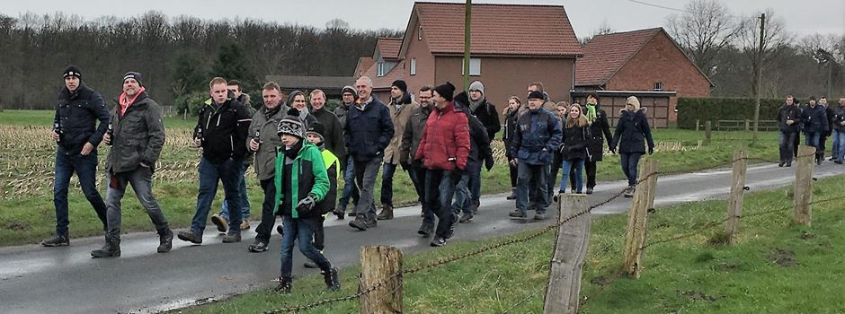 Hubertus-Winterwanderung der Schützenbruderschaft