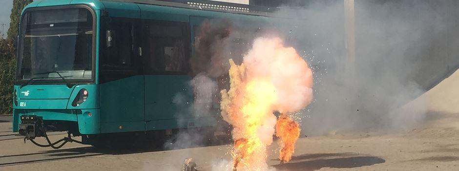 Üben für den Ernstfall: Explosion in U-Bahn