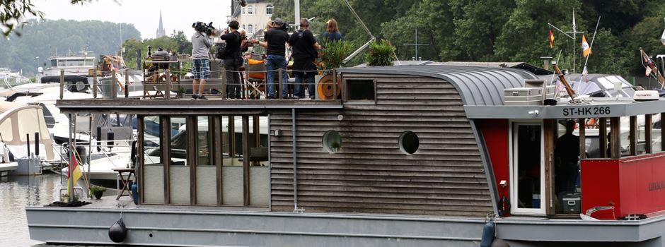 """""""Lecker an Bord"""": Filmdreh des WDR im Mondorfer Hafen"""