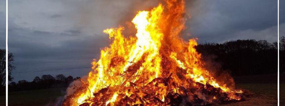 Osterfeuer der Jungschützen Clarholz-Heerde erneut abgesagt