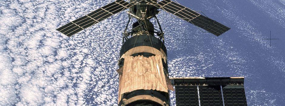 """Vor 40 Jahren: Stürzt das """"Skylab"""" über dem Rhein-Main-Gebiet ab?"""