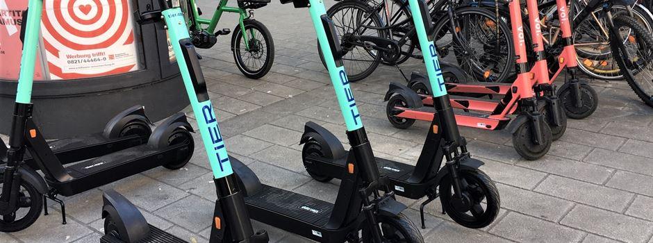E-Scooter in Augsburg bekommen Konkurrenz