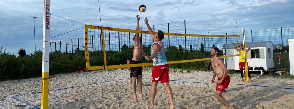 Beachvolleyball: Jungs vom TuS Mondorf bei Westdeutscher Meisterschaft