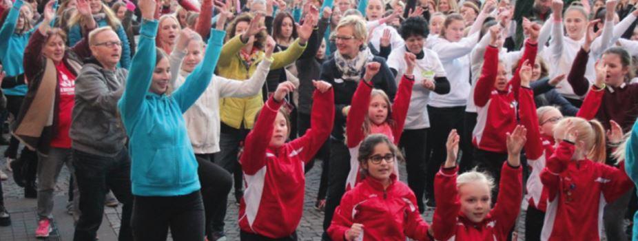One Billion Rising am 14. Februar in Gütersloh