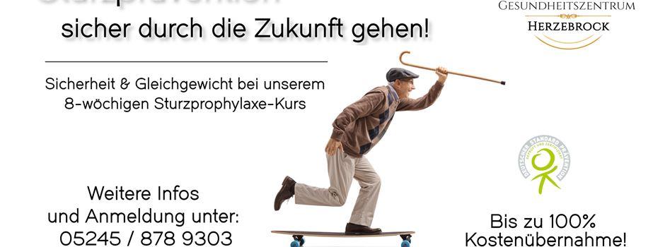 Anzeige: Kurs Sturzprophylaxe - Vorbeugen ist besser als heilen