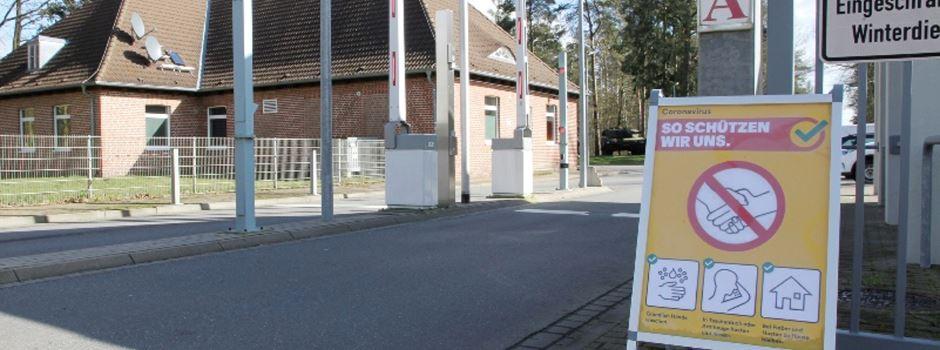 Coronavirus: Bundeswehr in Munster schränkt Publikumsverkehr ein