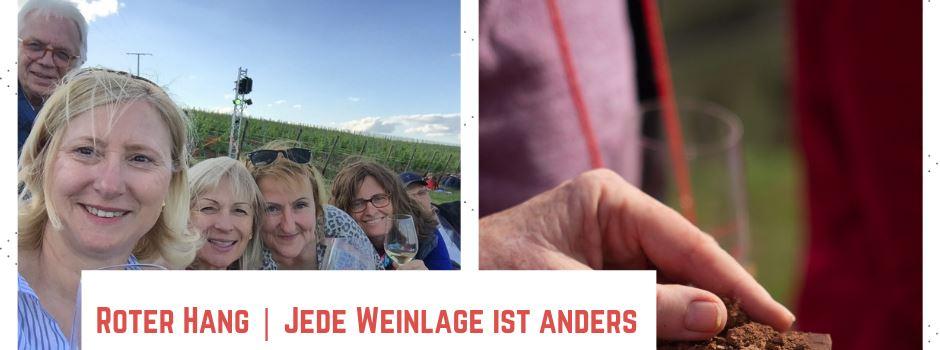 """""""GenießerTour Roter Hang"""" - jede Weinlage ist anders! Nierstein, 29.06., um 15:00 Uhr"""