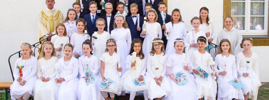 Erstkommunion in Clarholz 2019
