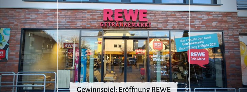 Gewinnspiel REWE Anton Wiebe Getränkemarkt