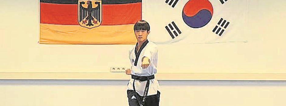 Taekwondo-Wettkampf über das Internet: Bispinger startet für Deutschland