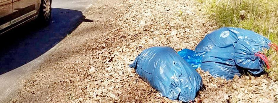 Wieder illegal Müll abgeladen