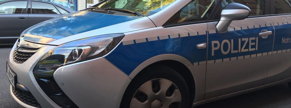 Randalierer wütet in Polizeiauto