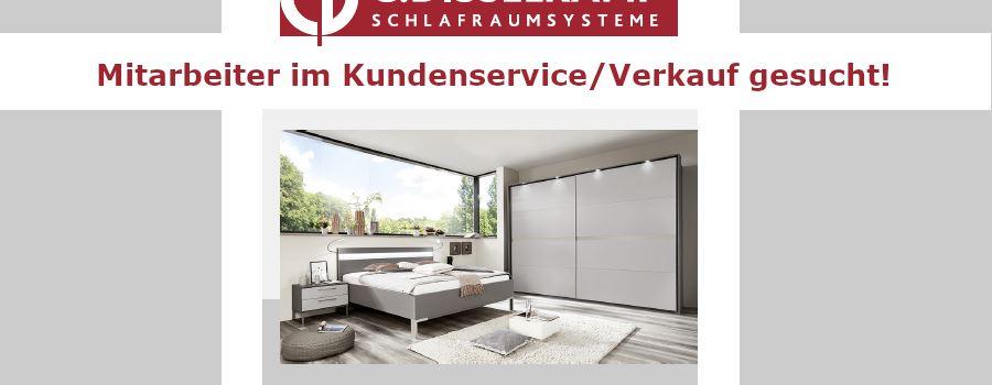 Stellenanzeige: C. Disselkamp Schlafraumsysteme sucht Mitarbeiter im Kundenservice/Verkauf