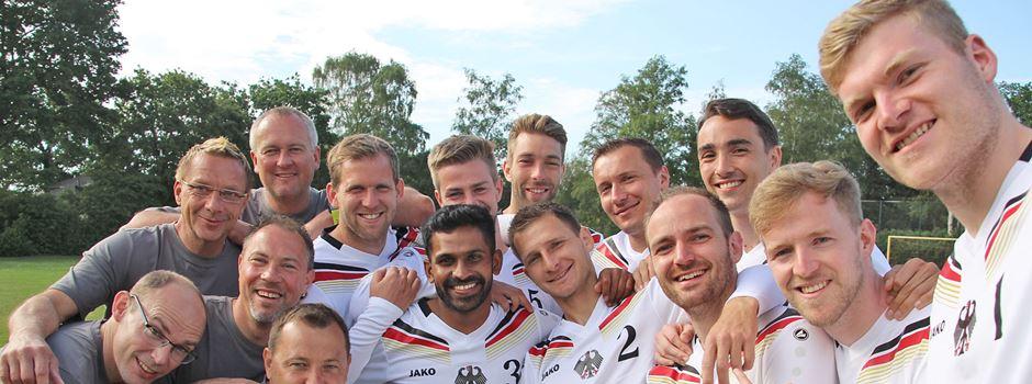 Nationalteam in der Heide