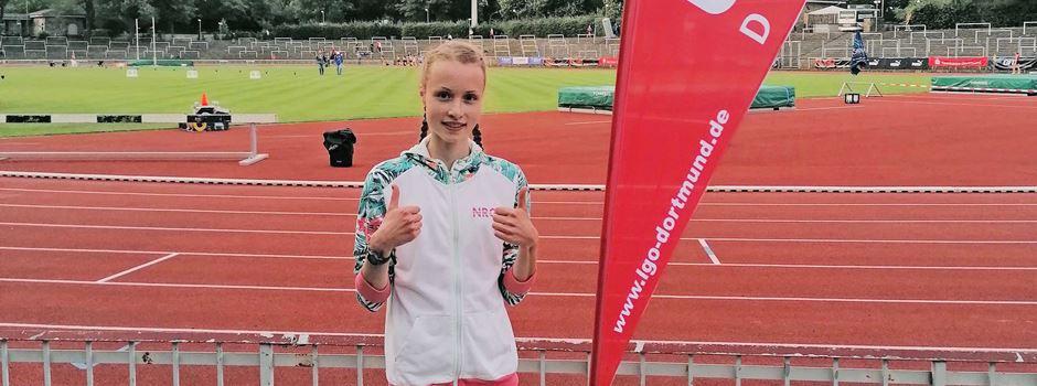 Der nächste Coup: Soltauer Läuferin Anna Lütjen stellt neuen Landesrekord auf