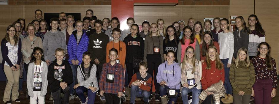 Gastschüler aus den USA zu Besuch am Einstein-Gymnasium