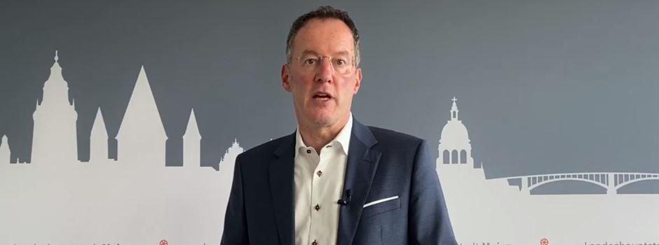 Mainzer OB Ebling wendet sich mit Video-Statement an Bürger