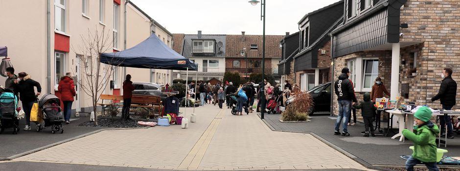 Erster Garagenflohmarkt 2021 in Lülsdorf erhält gutes Feedback
