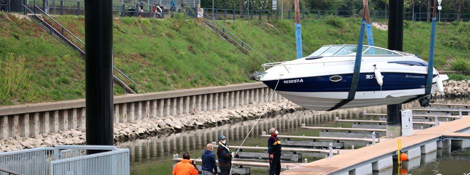 Hafenmodernisierung in Zündorf nach fünf Monaten abgeschlossen (mit Video)